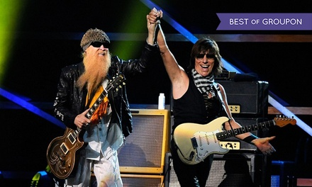 ZZ Top and Jeff Beck at Coral Sky Amphitheatre on Friday, May 8, at 7 p.m. (Up to 50% Off)