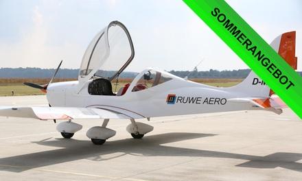 45, 60 oder 90 Min. ein Ultraleichtflugzeug selber fliegen inkl. 1 Landung bei RUWE AERO (bis zu 52% sparen*)