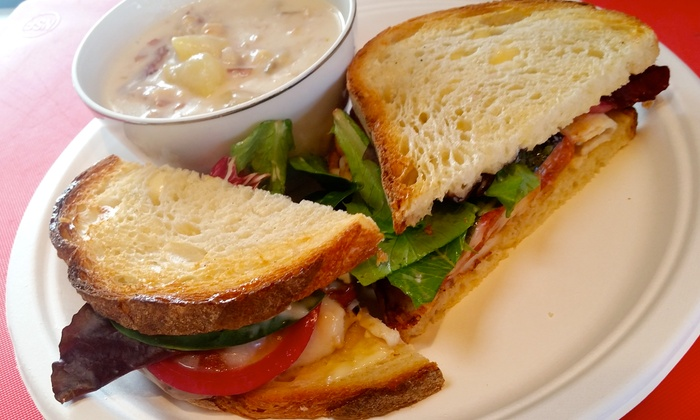 Rip City Sandwiches - Brentwood - Darlington: Deli Sandwiches at Rip City Sandwiches (38% Off). Two Options Available.