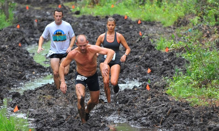 FL.ROC Running Obstacle Challenge - Bunnell: Mud-Run Entry with T-shirt for One or Two to the FL.ROC Running Obstacle Challenge (Up to 58% Off)