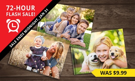 .99 for a Personalised Hardcover Photobook, Redeemable Online Don't Pay up to $174.99
