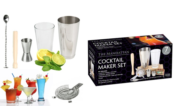 75bdc41584065 7-Pc Manhattan Cocktail Maker Set
