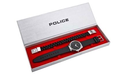 Police Men's Horizon Bracelet and Watch