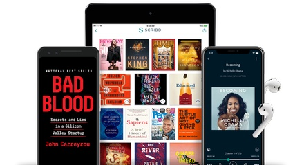 2-Month Unlimited* Audiobook, eBook, and eMagazine Subscription to Scribd (67% Off)