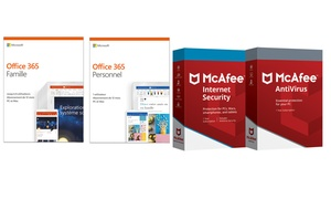 Pack Microsoft et McAfee