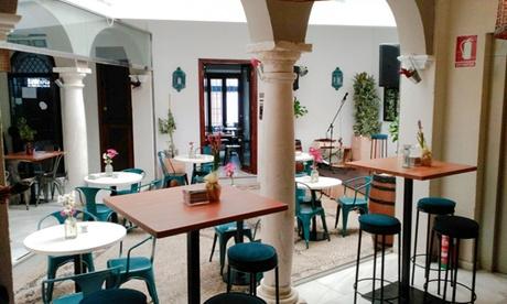 Menú premium o básico para 2 o 4 personas con entrante, principal, bebida y postre desde 29,95 € en Doble de Cepa