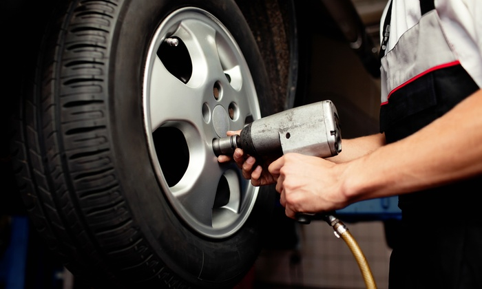 A+ Automotive - A PLUS AUTOMOTIVE: $89 for a Brake Pad Replacement for Two Wheels at A+ Automotive ($189 Value)