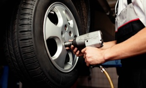 A+ Automotive: Automotive Maintenance Services or Brake Pad Replacement at A+ Automotive (Up to 71% Off). Four Options Available.