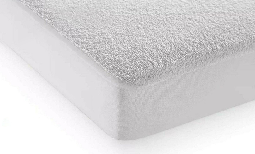 Waterproof Terry Mattress Protector from £7.50 (49% OFF)