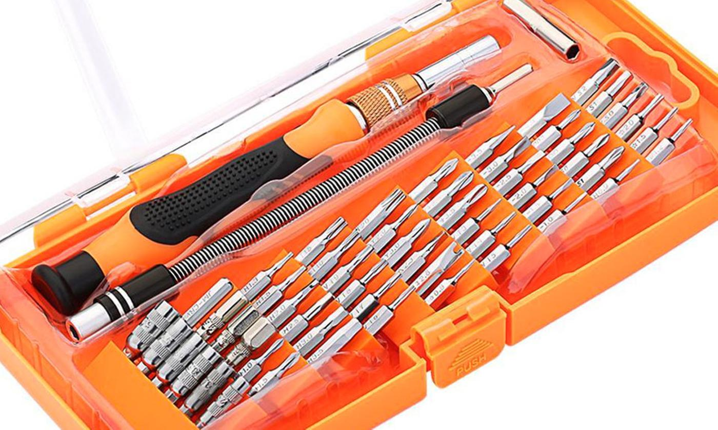 One or Two Magnetic Precision Screwdriver 58-in-1 Kits