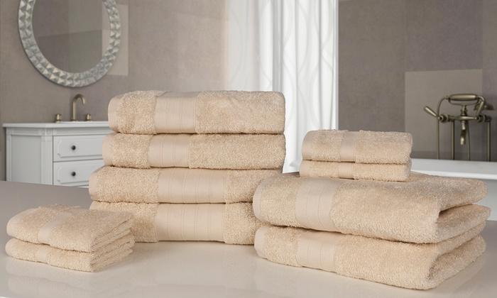 10er set handt cher groupon. Black Bedroom Furniture Sets. Home Design Ideas