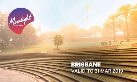 Moonlight Cinemas: GA Tickets for $14 - The Amphitheatre, Brisbane (Up to $20 Value)