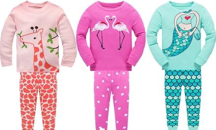 Sélection de pyjama en coton pour filles