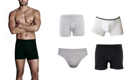 fe7e1cc620 4 slip o boxer Fila in cotone disponibili in vari modelli, colori e taglie