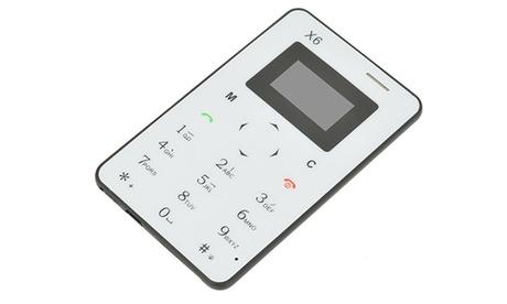 Microteléfono de emergencias X6 con envío gratuito
