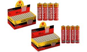 Lot de 60 Piles Kodak AA ou AAA