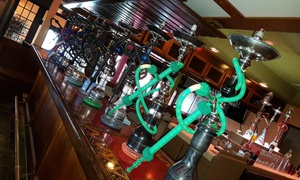 Shahrazade Cafe and Grill: Up to 52% Off Hookah for Two or Four at Shahrazade Cafe and Grill