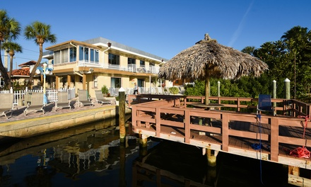 Stay at Bayview Plaza Waterfront Resort in St. Pete Beach, FL. Dates into January.