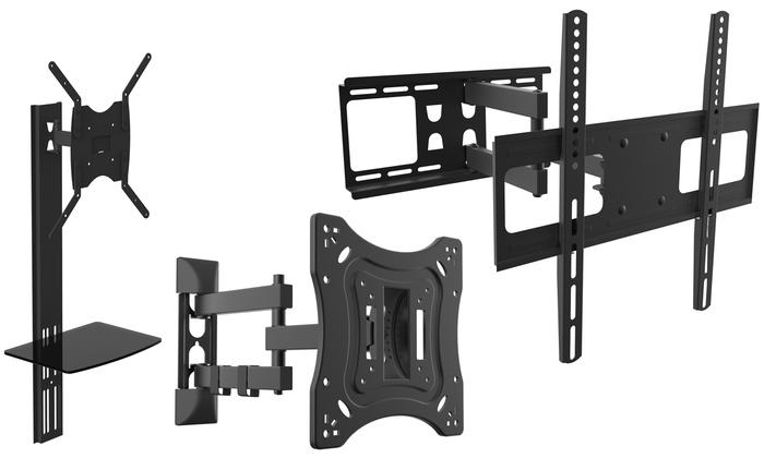 Groupon Goods Global GmbH: Supports muraux orientables pour téléviseurs, plusieurs modèles disponible