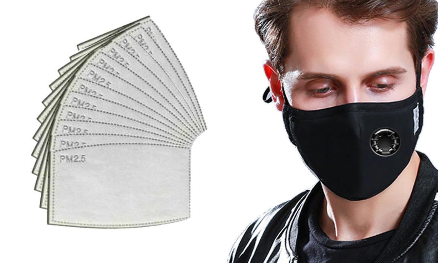 One or Two Reusable Masks with Filters