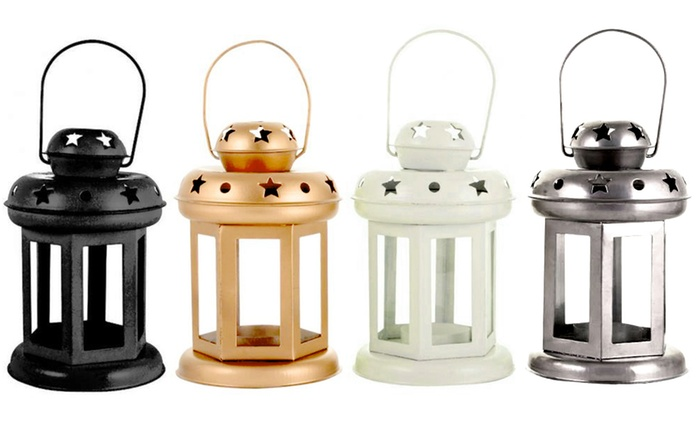 Two, Four or Eight Ramadan Metal Lanterns from AED 39 (Up to 80% Off)