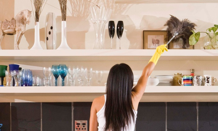 Maid in Scotland - Houston: One or Three Two-Hour Whole-Home-Cleaning Sessions from Maid in Scotland (Up to 55% Off)