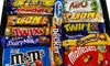 14 Mixed Chocolate Bars and Bags Letterbox