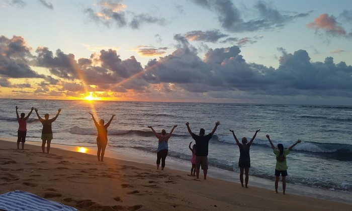 Up To 50 Off Cles At Kauai Yoga On The Beach