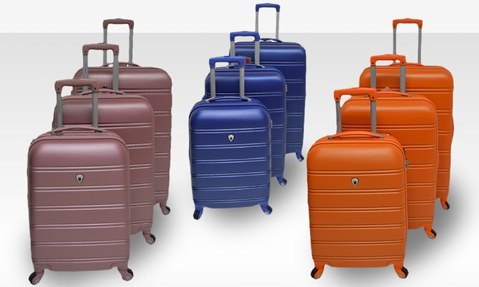 Cambridge Navigator Luggage Set: $179.99 for a Cambridge Navigator Luggage Set ($499 List Price). Multiple Styles Available. Free Shipping and Returns.