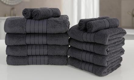 6er-, 10er- oder 12er-Set ägyptischer Baumwollhandtücher Bale 500 gsm in der Farbe nach Wahl (Munchen)