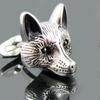 Blackjack Men's Animal Cufflinks in Stainless Steel