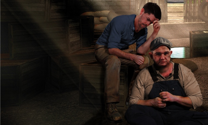 """Of Mice and Men"" - Milwaukee Repertory Theater Ticket Office: ""Of Mice and Men"" (January 19–27)"