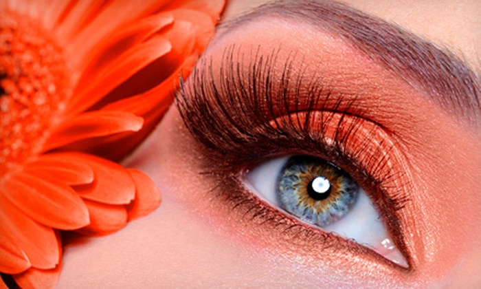 Posh Beauty Bar - Silver Berry: $45 for Full Set of Synthetic Mink Eyelash Extensions at Posh Beauty Bar ($90 Value)
