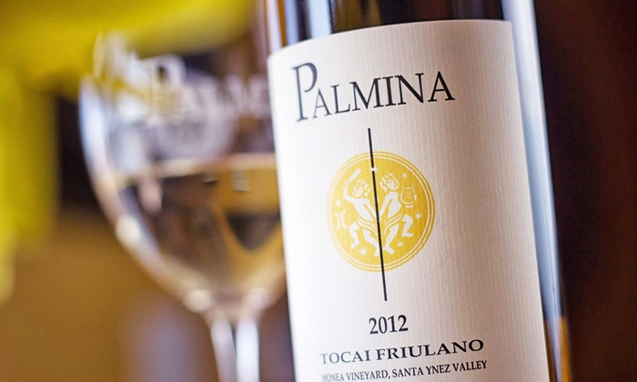 Palmina Wines - Lompoc: Small-Batch Wine Tasting for Two or Four at Palmina (Up to 38% Off)
