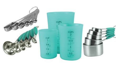 Flirty Kitchens Measuring Cup and Spoon Sets