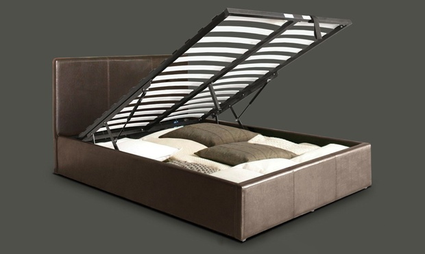 Gas Lift Ottoman Storage Bed Groupon Goods