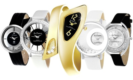 Horloges van So Charm Paris met kristallen van Swarovski®