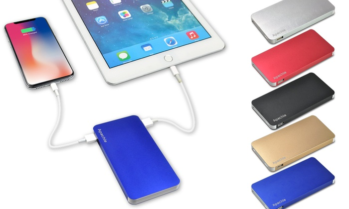 5200 mAh Portable Dual Aluminium Power Bank in Choice of Colour from £9.95
