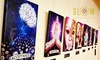 Glow: From $69.95 for an 'Ignite Your Potential' Canvas Artwork in Choice of Design