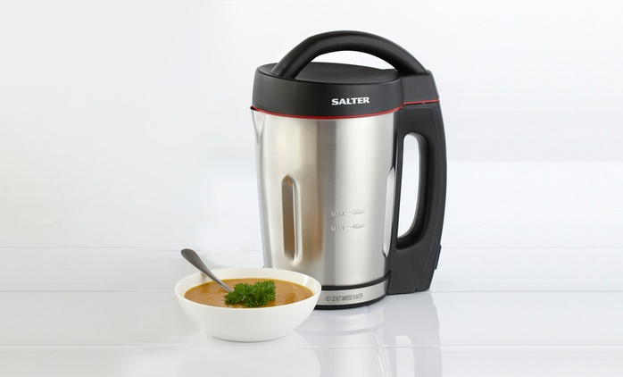 Salter Electric Soup Maker for £49.99 With Free Delivery (38% Off)