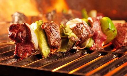 AllYouCanEat Barbecue with Caipirinha Cocktail at Rodizio Rico Birmingham