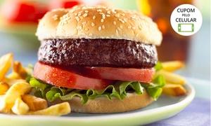 Planet Burger: Planet Burger – Taguatinga: 2 hambúrgueres Planet Burguer e 2 fritas