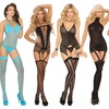 Elegant Moments Camisettes and Thigh Highs in Regular and Plus Sizes