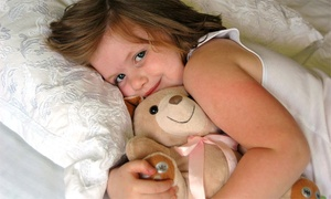 Mp3 Player Teddy Bear With Optional Soundtrack Of Personalized Lullabies From Cuddletunes (up To 52% Off)