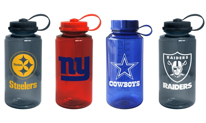 NFL 32 Oz. Water Bottle