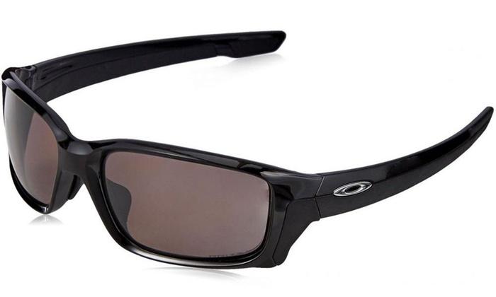 d5f2be20289 Oakley Straightlink Polished Black Prizm Daily Polarized Sunglasses ...