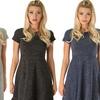 Sociology Women's Space-Dye Flippy Dress (Sizes L & XL)