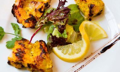image for Indian Cuisine: €40 Towards Food and Drinks for Two at Vermilion (50% Off)