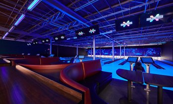 Up to 52% Off One Hour of Bowling at Uptown Alley
