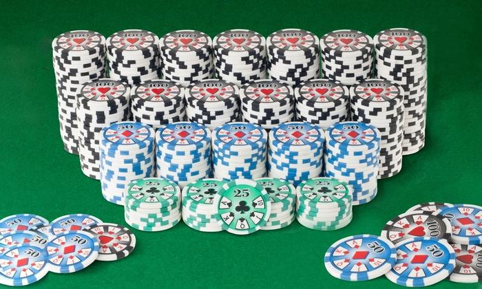 high roller pokerchips set 400piece high roller poker - Poker Chips Set